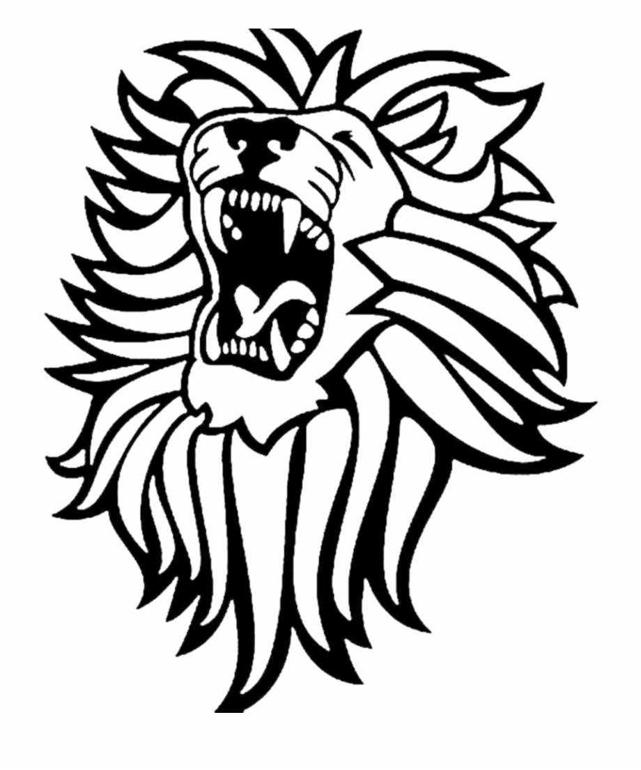 Lion roar clipart black and white png svg transparent Lioness Roar Png Hd - Lion Roaring Vector Art Free PNG ... svg transparent