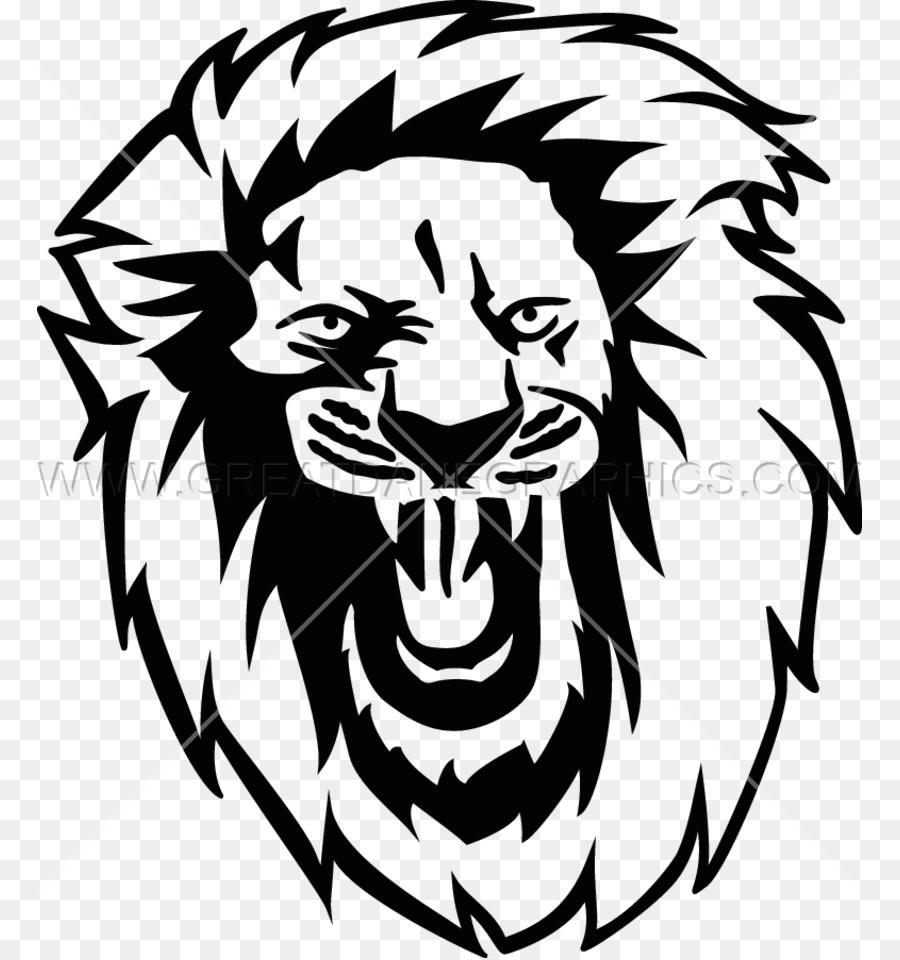 Lion roar clipart black and white png clip art freeuse Lion Drawing png download - 825*958 - Free Transparent Lion ... clip art freeuse