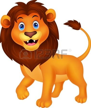 Lion walking clipart svg black and white download Stock Vector | CrAft dinO, birds N AnimAls | Cute lion, Lion ... svg black and white download