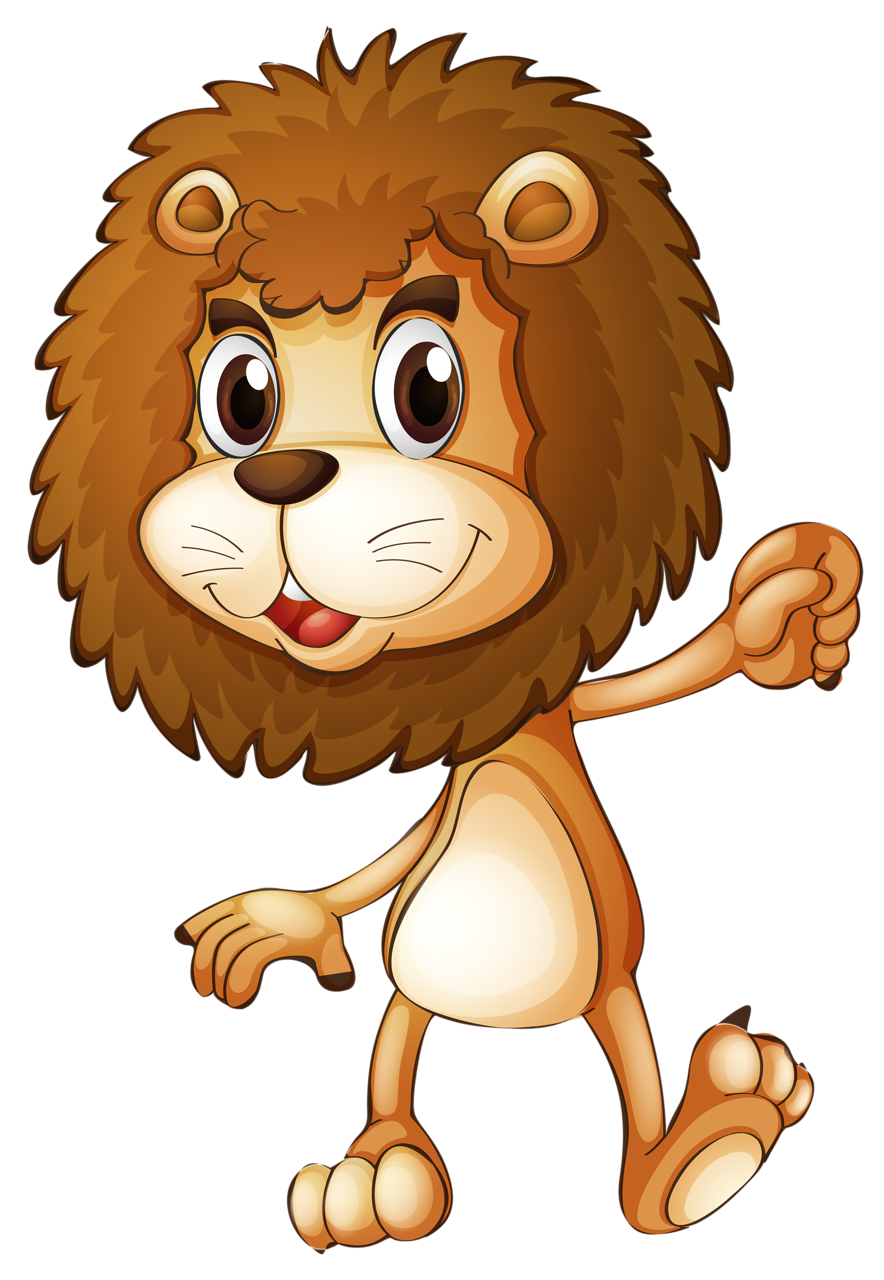 Lion with a king crown clipart jpg freeuse library Lion Stock photography Clip art - Cartoon Lion King 884*1280 ... jpg freeuse library