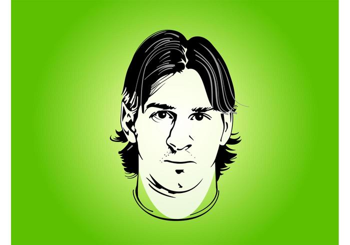 Lionel messi clipart clip art library download Lionel Messi Portrait - Download Free Vectors, Clipart ... clip art library download