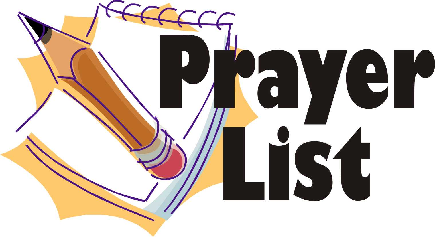 List clipart free clipart Prayer List Clipart - Clipart Kid clipart