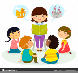 Listening clipart free svg transparent download Clipart Children Listening To A Story | Free Images at Clker ... svg transparent download