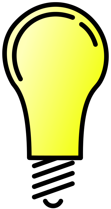 Lit clipart image free Free Clipart: Lightbulb Lit | Anonymous image free