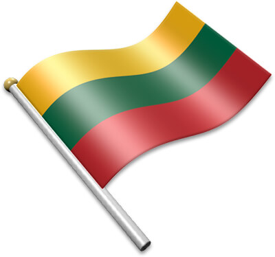Lithuanian flag clipart banner royalty free Flag Icons of Lithuania | 3D Flags - Animated waving flags ... banner royalty free