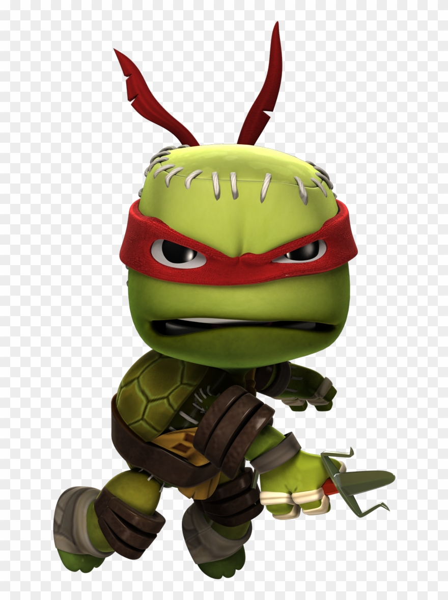 Little big planet clipart png royalty free download Raphaelpose - Little Big Planet Ninja Turtles Clipart ... png royalty free download