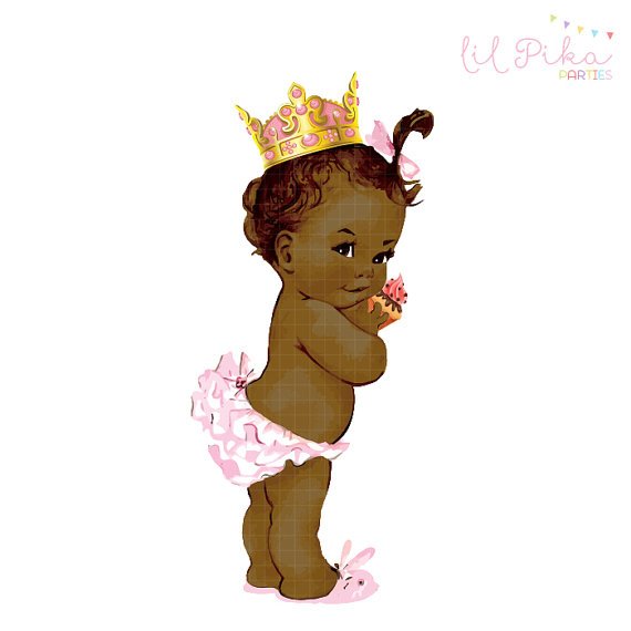 Little black baby in a tutu clipart clip library download Princess Tutu Baby Girl Clipart - Clip Art Library clip library download