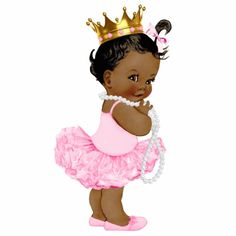 Little black baby in a tutu clipart graphic library stock 29 Best African American babies images in 2017 | Baby prince ... graphic library stock