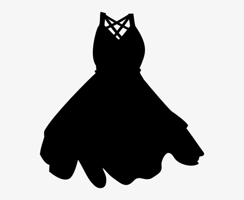Little black dress clipart free svg library library Black Dress Clip Art At Clker - Little Black Dress Clipart ... svg library library