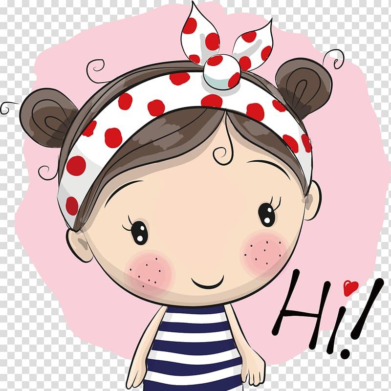 Little black girl dress cartoon no head clipart jpg transparent download Girl Cartoon Illustration, Painted pink cute little girl ... jpg transparent download