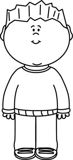 Little boy clipart black and white black and white download Little boy clipart black and white 1 » Clipart Portal black and white download