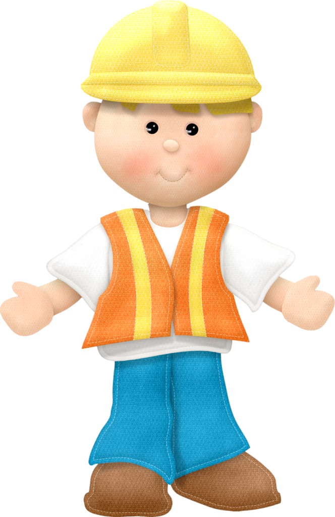 Little boy construction worker clipart graphic freeuse stock Construction worker | Community Theme Workers and Leaders | Clip art ... graphic freeuse stock