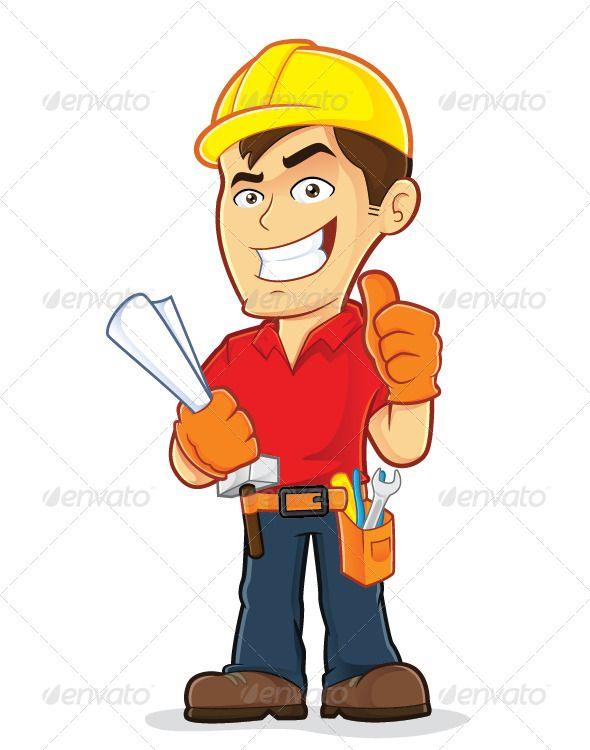 Little boy construction worker clipart svg free download Construction Worker by sundatoon Clipart picture of a construction ... svg free download