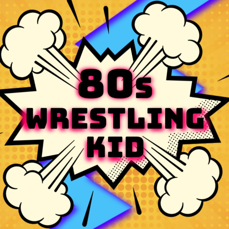 Little boy dressed as professional wrestler cartoon clipart banner black and white 80s Wrestling Kid   Listen via Stitcher for Podcasts banner black and white