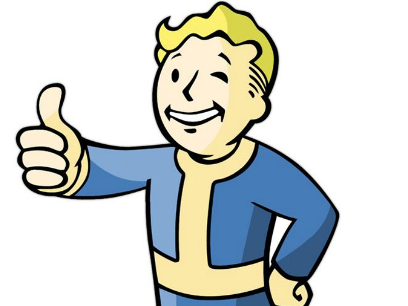 Little boy giving thumbs up clipart vector stock Maybe Vault Boy From 'Fallout' Isn't Giving Us The Thumbs Up After ... vector stock