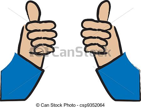 Little boy giving thumbs up clipart clip art free Clip Art Vector of Two Thumbs Up - Illustration of a Little Boy ... clip art free