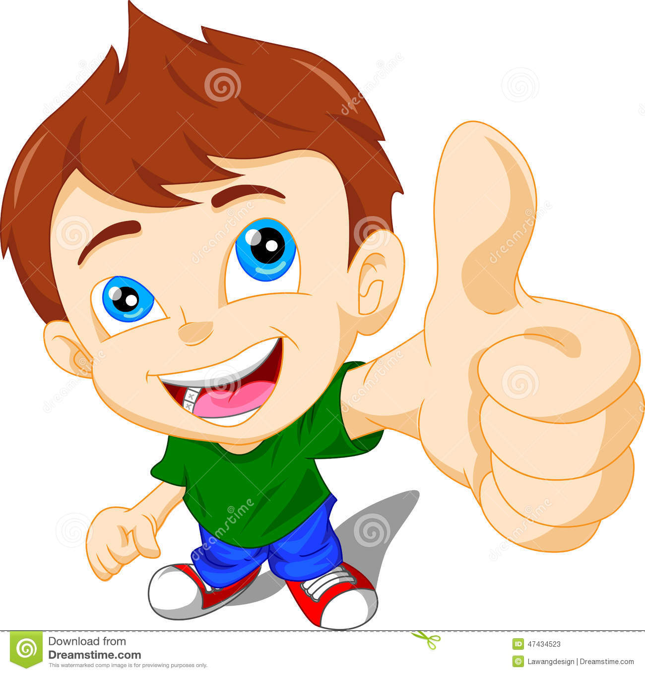 Little boy giving thumbs up clipart jpg free download Cute Little Boy Giving You Thumbs Up Stock Vector - Image: 47434523 jpg free download