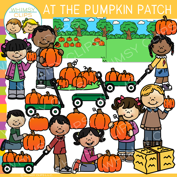 Little boy on bale of hay clipart clip art royalty free library At the Pumpkin Patch Clip Art clip art royalty free library