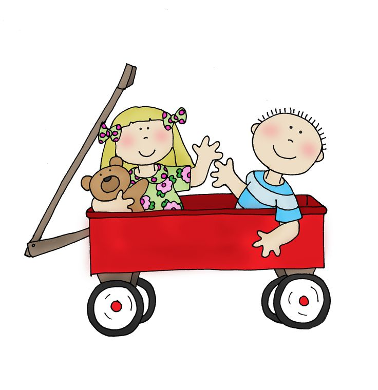 Little boy pulling wagon full of food clipart picture freeuse Wagons Clipart   Free download best Wagons Clipart on ClipArtMag.com picture freeuse