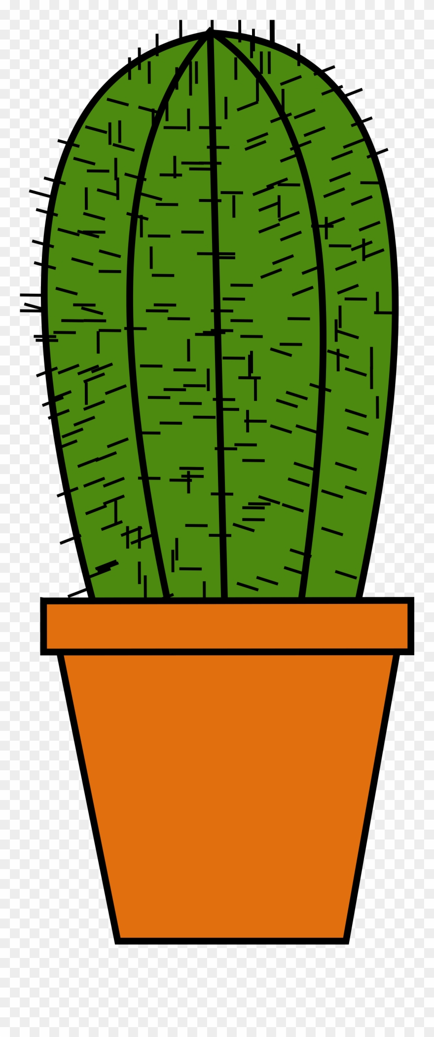 Little cactus cliparts jpg royalty free library Cactus Clay Pot Green - Kaktus Clipart - Png Download (#249595 ... jpg royalty free library