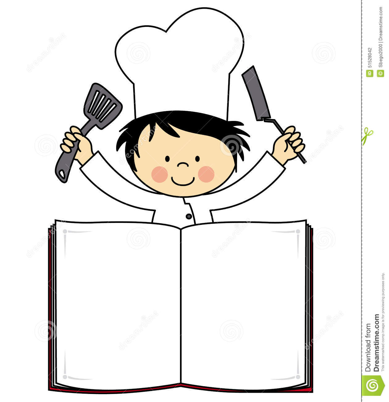 Little chef clipart vector library download Little chef clipart - ClipartFest vector library download