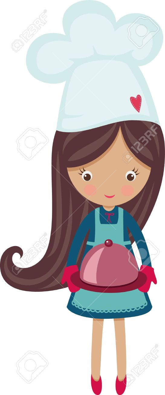 Little chef clipart png library stock Little girl chef clipart - ClipartFest png library stock