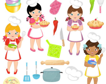 Little chef clipart png stock Little chef clipart – Etsy png stock
