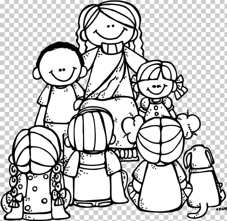 Little children black and white clipart free image royalty free library Coloring Book Teaching Of Jesus About Little Children Bible Adult ... image royalty free library