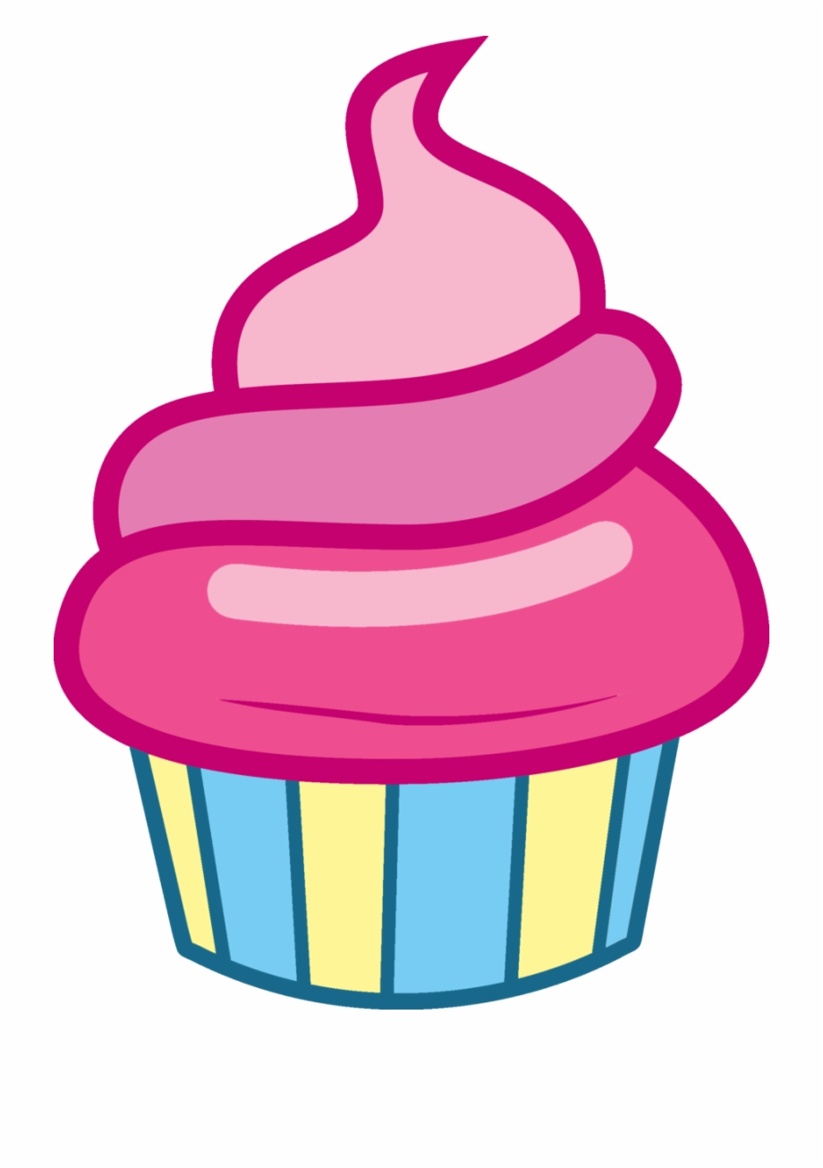 Little cupcake clipart png Vector Cupcakes - My Little Pony Cupcake Png Free PNG Images ... png