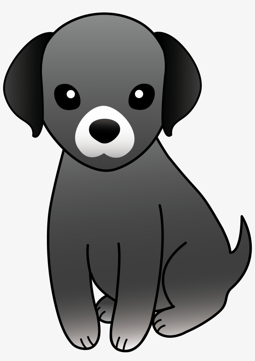 Little dog clipart in black and white transparent download Svg Freeuse Stock Cartoon Dogs Clipart - Little Black Dog Clip Art ... transparent download