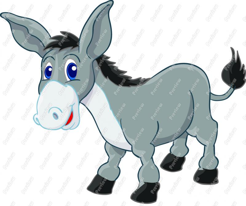 Little donkey clipart clip library download Endangered European little donkey, do not falter, there\'s a star ... clip library download
