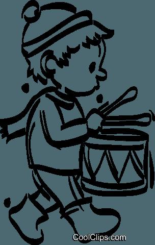 Little drummer boy clipart free banner library stock little drummer boy Royalty Free Vector Clip Art illustration ... banner library stock