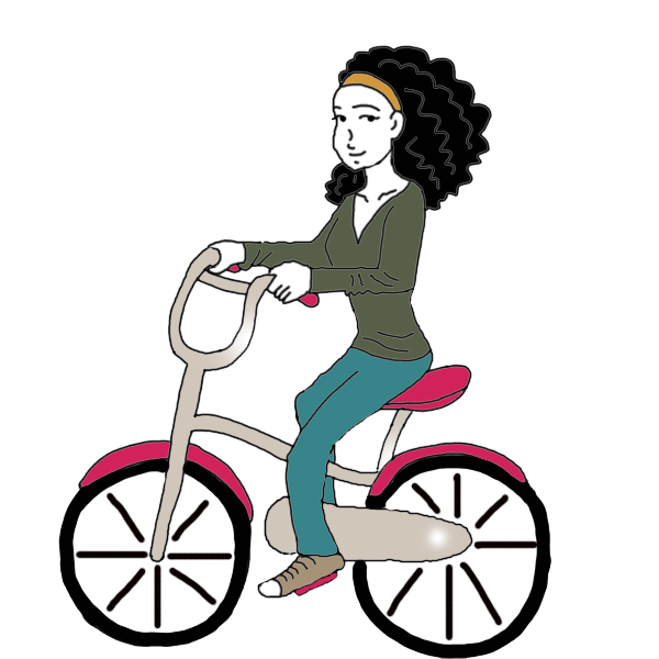 Little girl falling off bike clipart banner Dream Of Riding A Bike - Meaning and Interpretation - Auntyflo.com banner