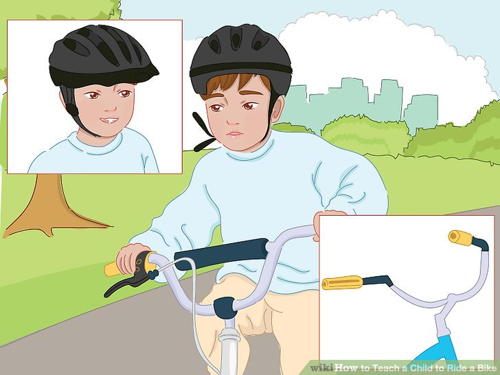Little girl falling off bike clipart vector freeuse stock How to Teach a Child to Ride a Bike (with Pictures) - wikiHow vector freeuse stock