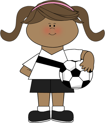 Little girl playing soccer clipart image royalty free Girl Playing Soccer Clipart | Free download best Girl Playing Soccer ... image royalty free