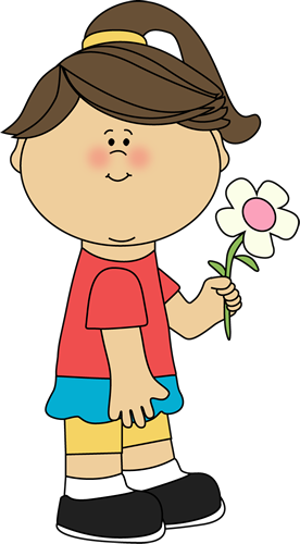 Little girl with flowers clipart royalty free library Free Girl Flowers Cliparts, Download Free Clip Art, Free Clip Art on ... royalty free library