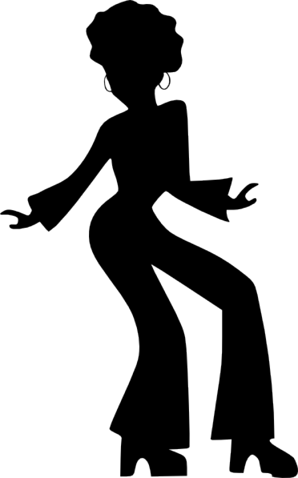 Little girls straightening crown clipart jpg black and white stock Afro Dancing Woman clip art | Bump | Pinterest | Clip art, Girls ... jpg black and white stock