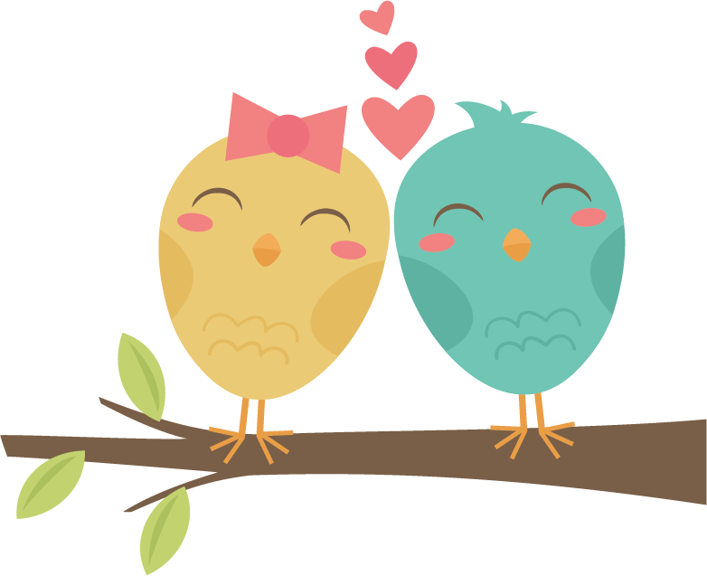 Little girls straightening crown clipart picture royalty free Lovebirds On Branch SVG cut files for scrapbooking cardmaking ... picture royalty free