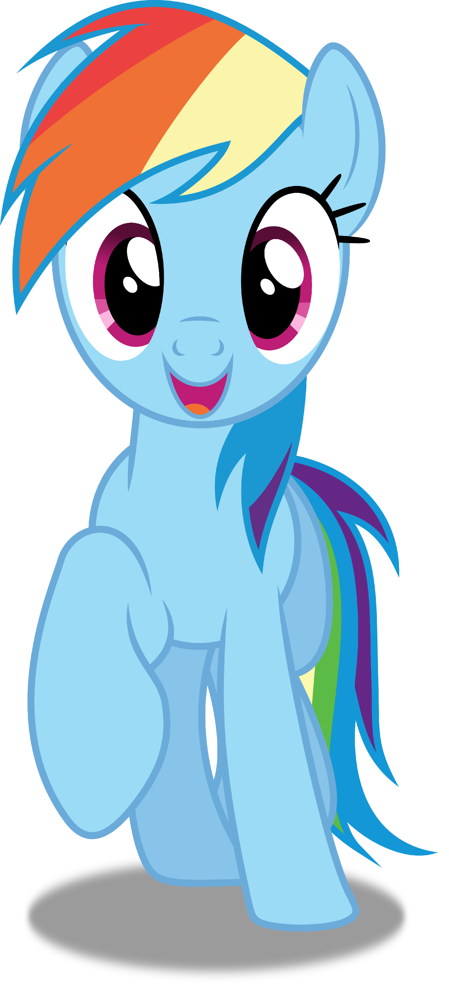 Little girls straightening crown clipart clip Rainbow Dash Vector by dashiesparkle on @deviantart | MLP (My Little ... clip