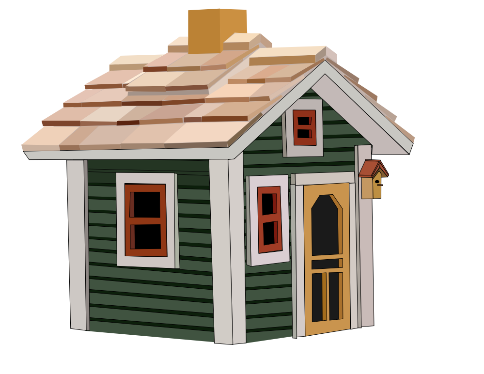 Little house clipart graphic freeuse download clipartist.net » Clip Art » little house cottage SVG graphic freeuse download