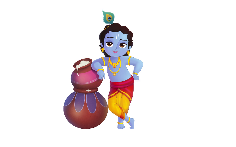 Little krishna clipart png royalty free download Hindu Diety Tattoos (12 Pack) | Little Krishna Clipart - Great free ... png royalty free download