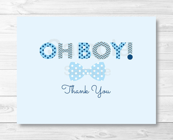 Little man bow tie clipart striped oh boy stock Oh Boy Bow Tie Folded Thank You Card Template / Little Man Baby ... stock