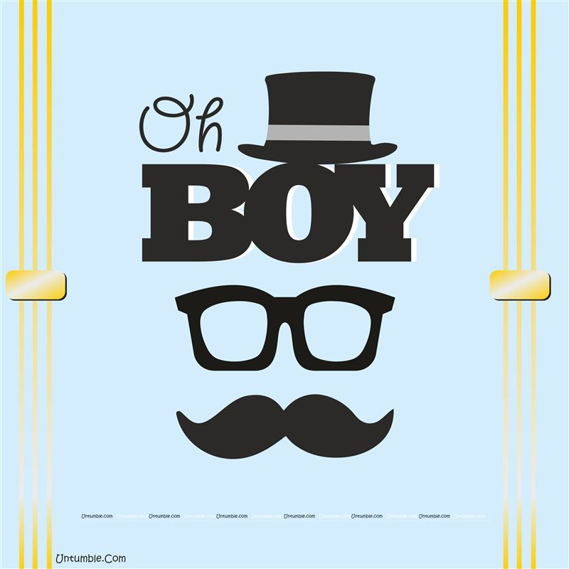 Little man bow tie clipart striped oh boy clip art black and white library Little Man theme - Oh boy Little Man birthday backdrop clip art black and white library
