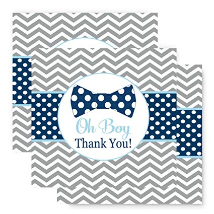 Little man bow tie clipart striped oh boy jpg freeuse download Bow Tie Favor Tags 25 Pack Baby Shower or Party jpg freeuse download