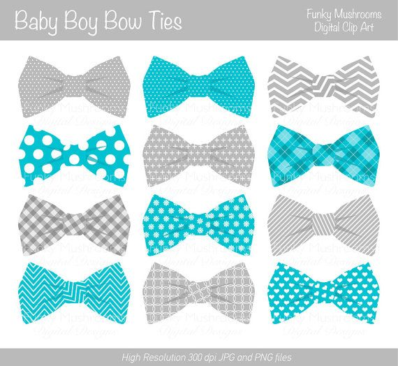 Little man bow tie clipart striped oh boy free stock Digital clipart Bow Ties baby boy grey blue by funkymushrooms, €2.60 ... free stock