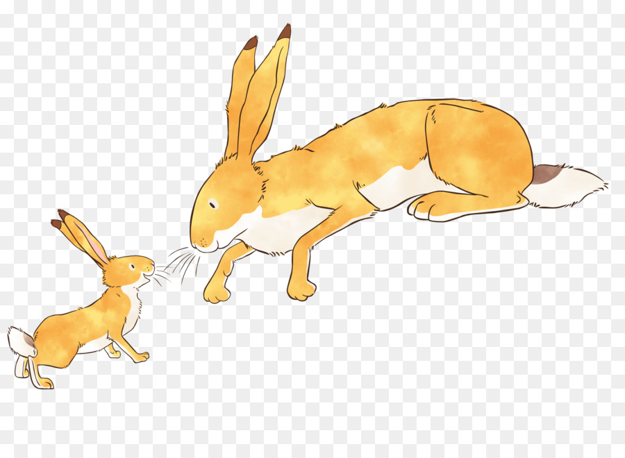 Little nutbrown hare clipart jpg free I Love You png download - 3820*2778 - Free Transparent Guess How ... jpg free