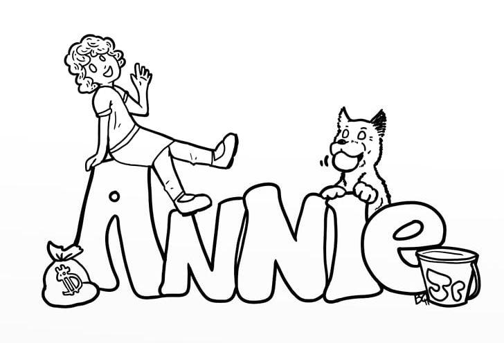 Little orphan annie clipart jpg black and white stock Little Orphan Annie Coloring Book PNG, Clipart, Angle, Annie, Arm ... jpg black and white stock