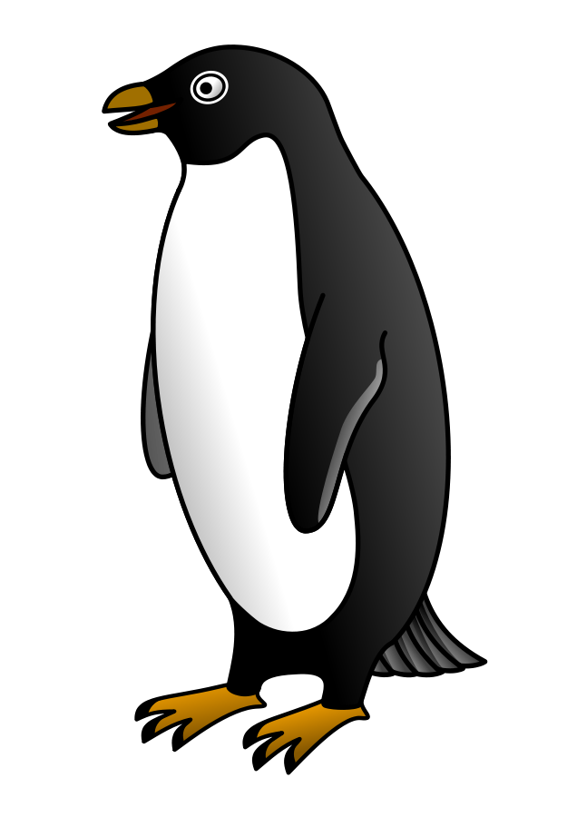 Free Free Penguin Clipart, Download Free Clip Art, Free Clip Art on ... clip art black and white stock