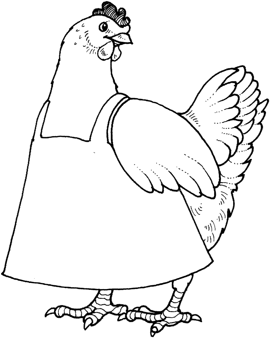 Little red clipart black and white banner free download Little Red Hen Clipart Black And White banner free download