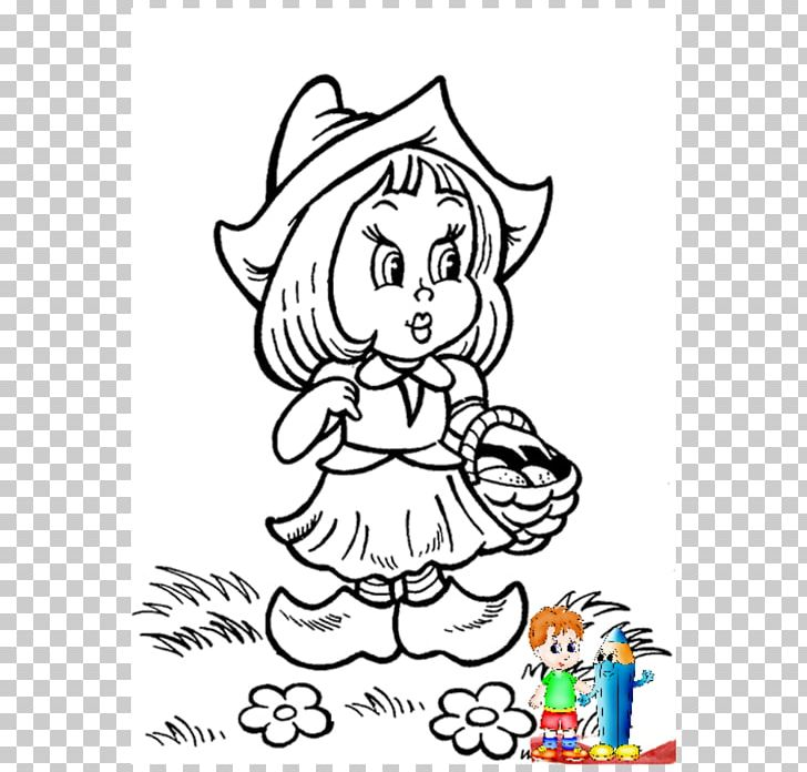 Little red riding hood book clipart black and white banner transparent download Little Red Riding Hood Wolf Mammal Fairy Tale Coloring Book PNG ... banner transparent download